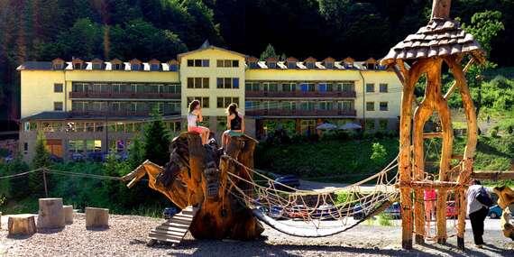 Wellness pobyt pre 2 osoby v hoteli Javorna/Drienica