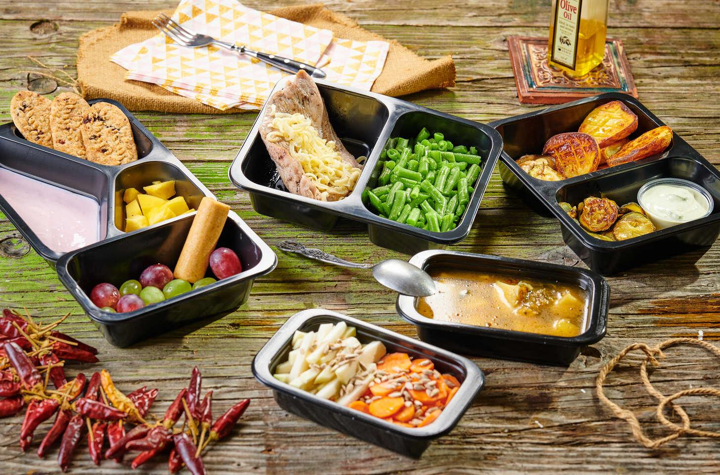 Fitkrabičky na týždeň s donáškou domov – 5 zdravých jedál denne bez varenia