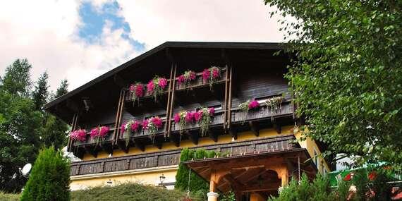 Dovolenka s raňajkami a saunou v českom penzióne Savisalo*** v Rakúskych Alpách/Rakúske Alpy