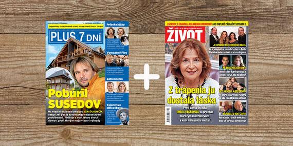Vaše obľúbené tituly vo výhodnom predplatiteľskom balíčku/Slovensko