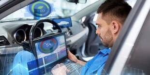 Diagnostika riadiacich jednotiek vozidla v BWOAH service