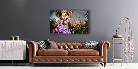 Prémiový obraz na kvalitnom plátne v krásnych farbách z vlastnej fotografie so skrytým rámom/Slovensko