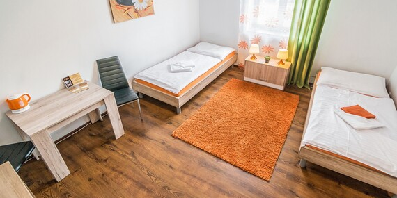Komfortné izby alebo apartmány penziónu TIME*** priamo v centre Prešova/Prešov
