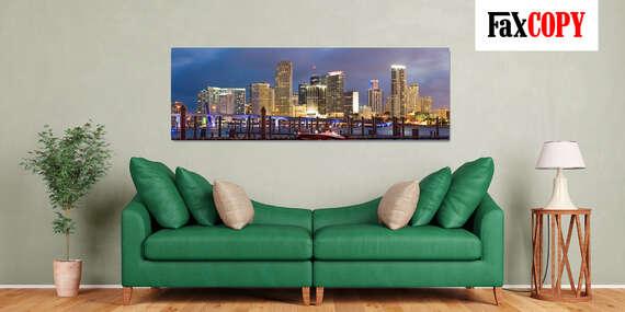 Veľkoformátový obraz z vašej fotografie na oživenie vašich priestorov s možnosťou odberu až v 39 predajniach FaxCOPY/Slovensko