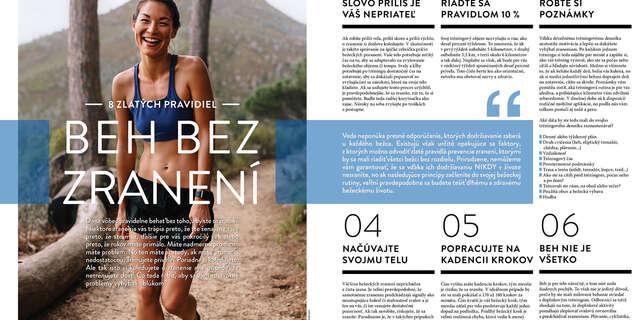 Ročné predplatné časopisu Running.