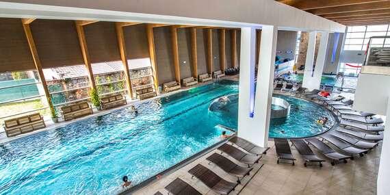 ŠPECIÁLNA NARODENINOVÁ PONUKA: Relax vo wellness a zábava vo vodnom svete v Aquaparku Trnava/Trnava