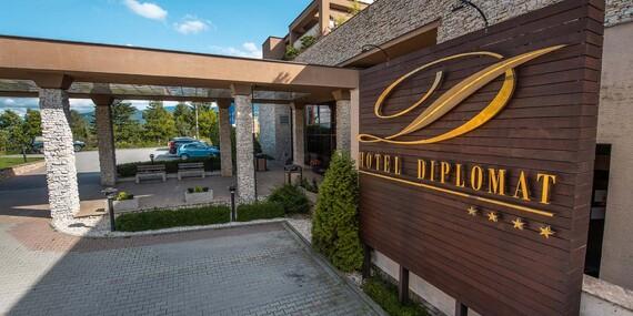 Zima vo Wellness Hotel Diplomat****/Rajecké Teplice