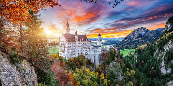 Rozprávkové bavorské zámky a príbeh kráľa Ludwiga II. / Nemecko – Bavorsko