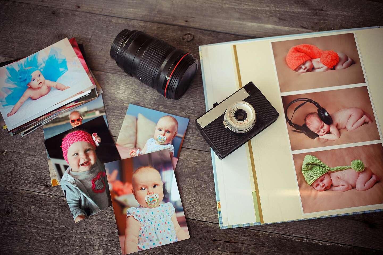 Tlač digitálnych fotografií na špeciálny pololesklý papier