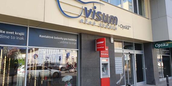 Kompletné alebo refrakčné vyšetrenie zraku a zľava na dioptrické a slnečné okuliare/Bratislava – Staré Mesto
