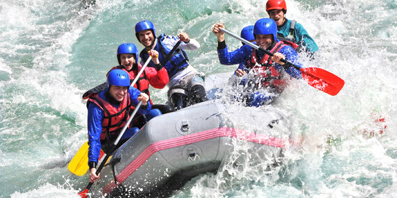 Zažite adrenalínový rafting na najkrajšej rieke v SR rieke Belá, rafting na olympijskom kanáli na Liptove alebo pokojný splav Váhu/Liptovský Mikuláš
