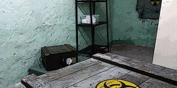 Hororová escape room Resident Evil - pomôž zachrániť ľudstvo pred skazou!/Bratislava – Ružinov