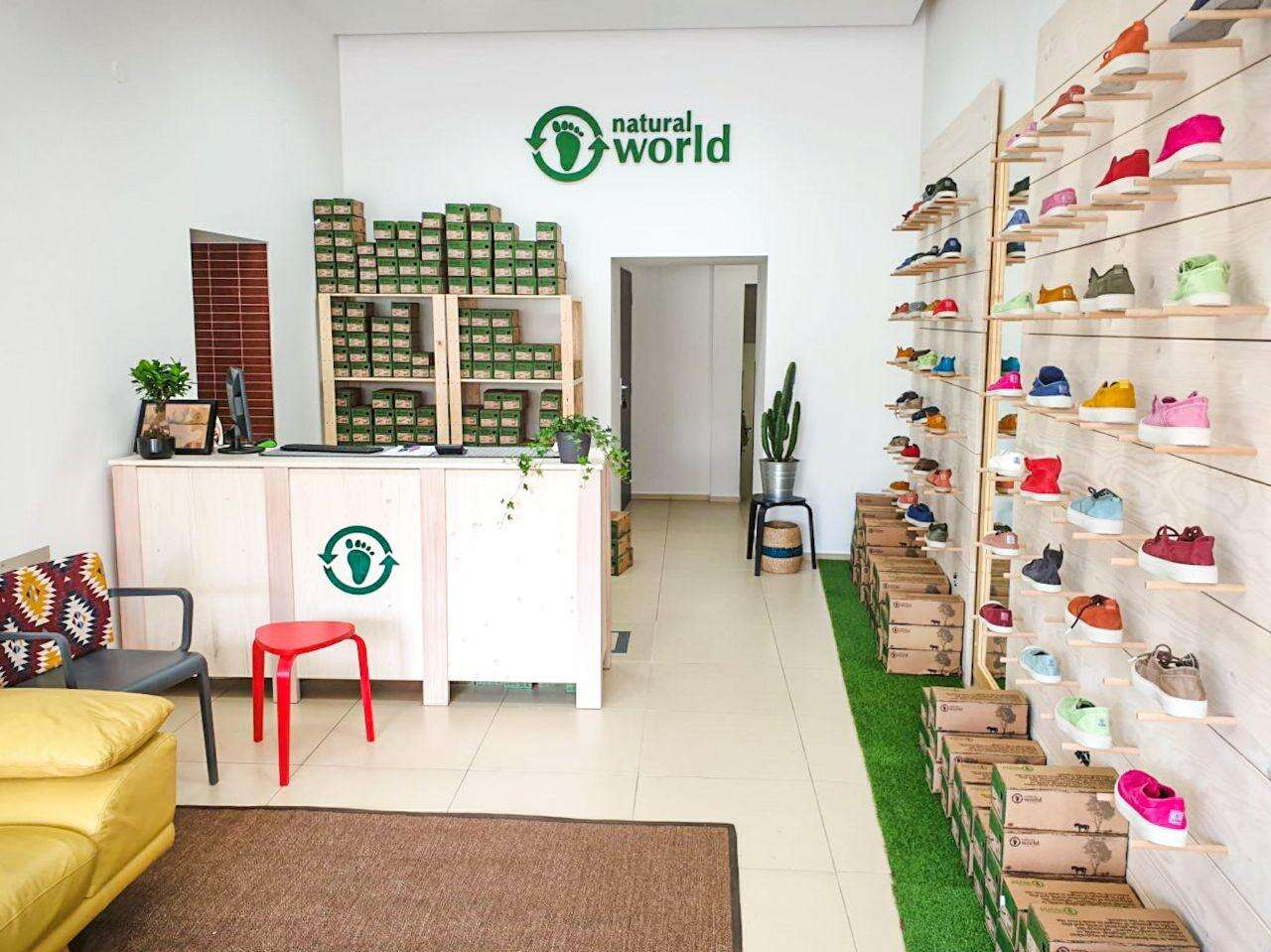 Špeciálne eko topánky Natural World zo 100 % organických surovín