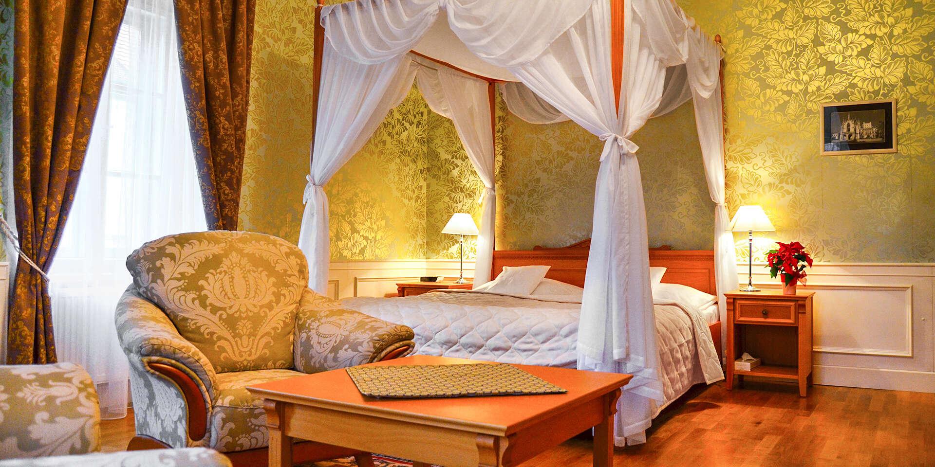 Mágia Zámockého hotela Lednice**** s ubytovaním od 1 noci a polpenziou pre dvoch