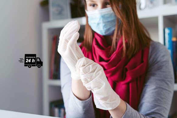 Latexové rukavice - okamžité odoslanie do 24 hodín
