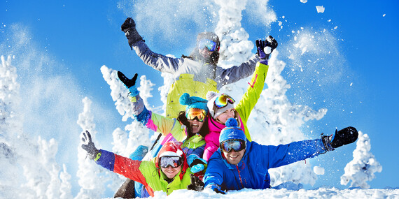 Zima v Penzióne Bezovec*** s polpenziou a wellness priamo pri zasnežovanej zjazdovke/Nová Lehota