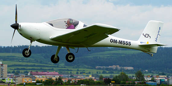 Lietanie s možnosťou pilotovania na skúšku - pohľad z inej perspektívy vás dostane/Boleráz (pri Trnave)