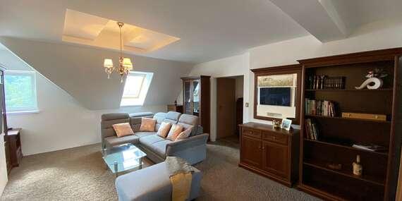 Ubytovanie pre 2 až 6 osôb v mezonetovom apartmáne s výhľadom na Gerlach/Štôla