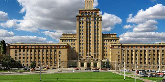 Výnimočný hotel International**** Prague v historickej budove blízko pražských pamiatok/Praha 6 - Česko