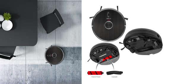 TOP robotický vysávač s mopom 3v1 Concept VR3210 REAL FORCE s extra výkonom, limitovaná ponuka!/Slovensko