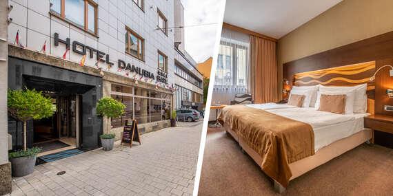 Pobyt v centre Bratislavy v krásnom hoteli Danubia Gate****, aj so vstupmi na atrakcie/Bratislava - Staré Mesto