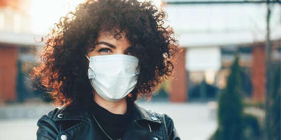 Ochranné rúška zo 100 % bavlny - chráňte seba aj svoje okolie/Slovensko
