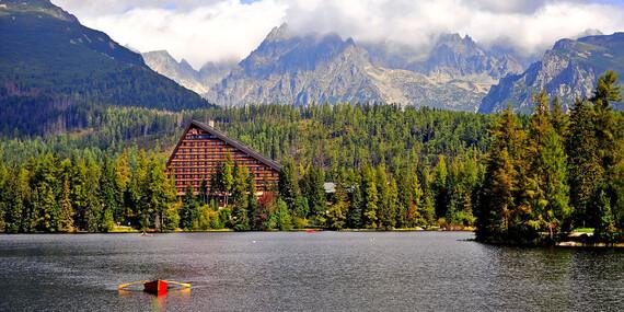 Exkluzívny Hotel Patria**** priamo na Štrbskom Plese s wellness a najkrajším výhľadom vo Vysokých Tatrách/Štrbské Pleso