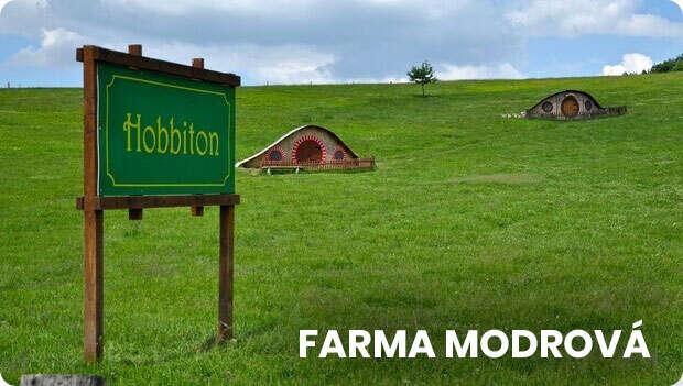 Farma Modrova Hobbiton