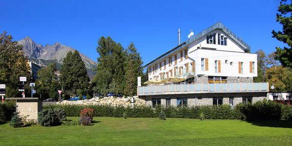 Aparthotel Belveder: Rodinná dovolenka blízko lanovky na Lomničák s možnosťou pivných kúpeľov / Vysoké Tatry - Tatranská Lomnica