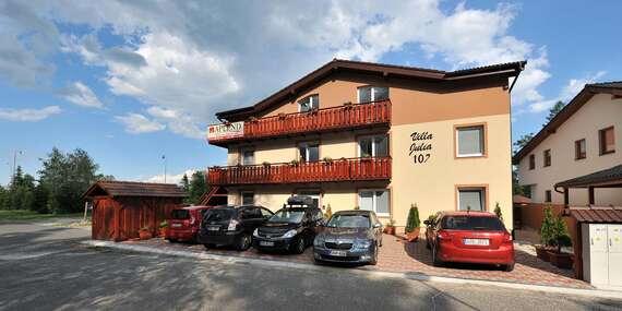Příjemné ubytování ve vilách pod Lomnickým štítem s ubytováním pro dítě do 6 let zdarma/Vysoké Tatry – Tatranská Lomnica