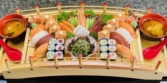 Sushi set 36 kúskov pre dvoch v novootvorenej reštaurácii Nón Việt, aj osobný odber/Trnava