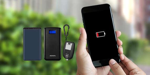 Powerbanky: Xiaomi, Adata alebo jedna z najmenších powerbánk na svete/Slovensko