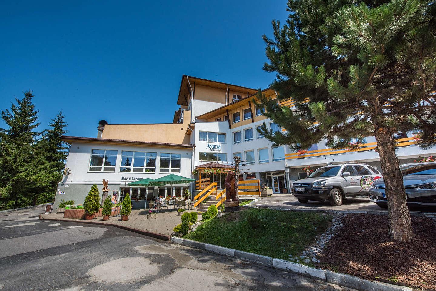 Nízke Tatry s procedúrami a polpenziou pre dvoch v hoteli AVENA RELAX HOTEL***, platnosť až do decembra 2020