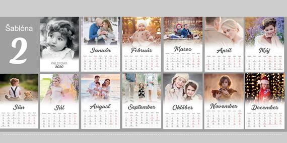 Extra veľký kalendár z vašich fotiek/Slovensko