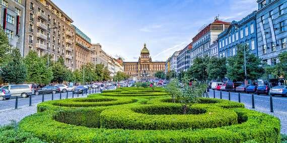 Pražský hotel Aida**** len 15 minút metrom od Václavského námestia/Praha - Česko