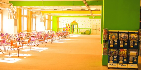 Vstup do dětského centra Tanzania park v Praze pro děti všech věkových kategorií s doprovodem zdarma/Praha