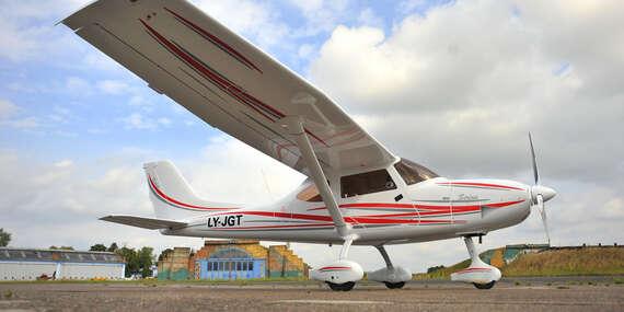 Zážitkový let na novom lietadle Sirius s nadštandardnou výbavou - letisko Sládkovičovo/Letisko Sládkovičovo