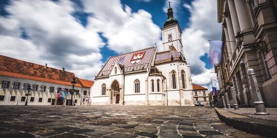 Čarovné Plitvice a návšteva historického Záhrebu/Záhreb