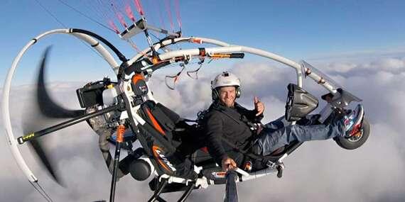 Tip na darček: Jedinečný tandemový motorový paragliding okolo Liptovskej Mary so skúseným pilotom/Liptov
