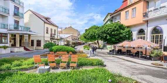 Penzión Alegro v najobľúbenejšom kúpeľnom meste Piešťany s all inclusive a procedúrami/Piešťany