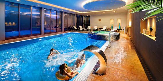 PARK**** u řeky Orava s neomezeným wellness jako jeden z nejlépe hodnocených hotelů/Dolný Kubín
