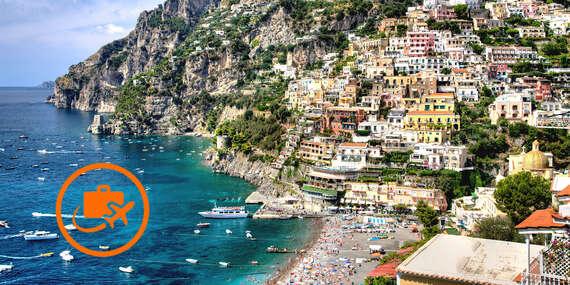 Úžasný 5-dňový letecký zájazd Neapol, Capri, Vezuv, Pompeje, Amalfi a Positano/Neapol, Capri, Vezuv, Pompeje, Amalfi, Positano