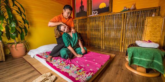 Tradičná thajská masáž v Starom Meste – obľúbený darček plný relaxu, s novými voľnými termínmi / Bratislava – Staré Mesto