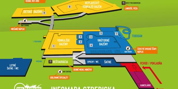 3-hodinové vstupy do Holidayparku Kováčová - kúpanie v termálnej minerálnej vode/Kováčová