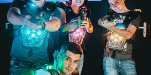Akčná Laser Game