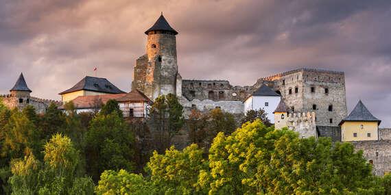 Vstupné na Ľubovniansky hrad a do skanzenu pre deti a dospelých / Stará Ľubovňa