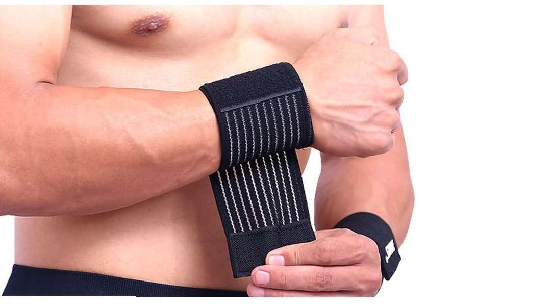 Spevňujúce bandáže na koleno a zápästie