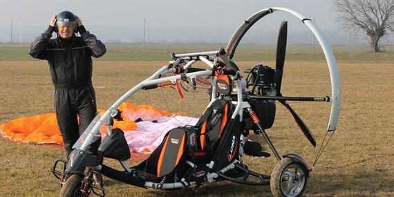 Adrenalín pri tandemovom motorovom paraglidingu okolo Liptovskej Mary + videozáznam/Slovensko - Liptov