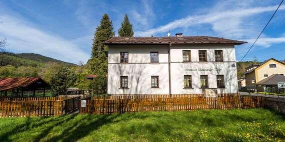 Aktivní odpočinek na Šumavě s ubytováním v penzionu Klášterský Mlýn s polopenzí a sportovním vyžitím/Šumava - Rejštejn