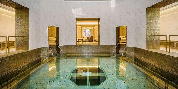 Královský Royal Palace ***** s lázeňskými procedurami, neomezeným SPA & AQUAPARK a Zlatým koupelem Royal Bath/Turčianske Teplice